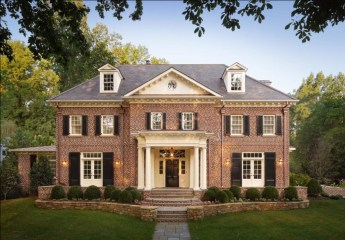 Best Exterior Paint Color Ideas Red Brick29