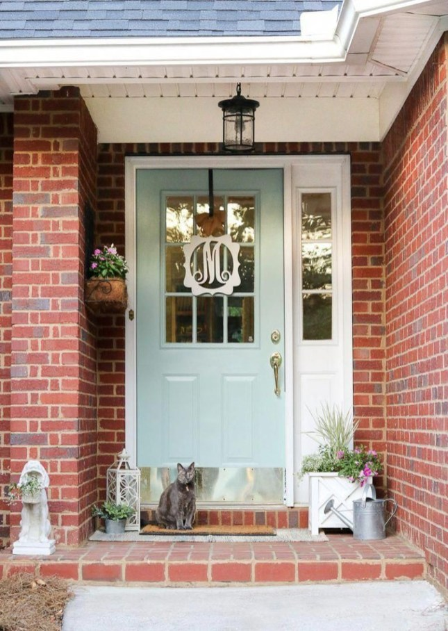 Best Exterior Paint Color Ideas Red Brick32