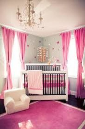 Cute And Cozy Bedroom Decor For Baby Girl21