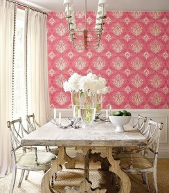 Feminine Dining Room Design Ideas05