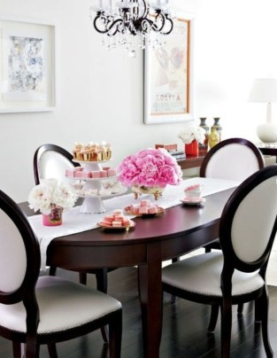 Feminine Dining Room Design Ideas15