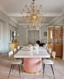 Feminine Dining Room Design Ideas22