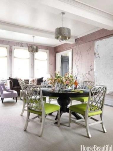 Feminine Dining Room Design Ideas33