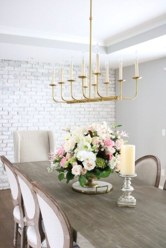 Feminine Dining Room Design Ideas34