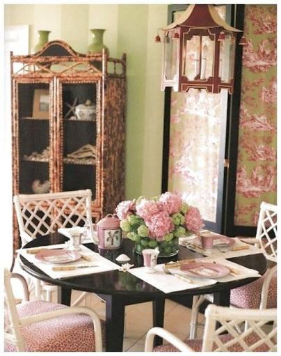 Feminine Dining Room Design Ideas35