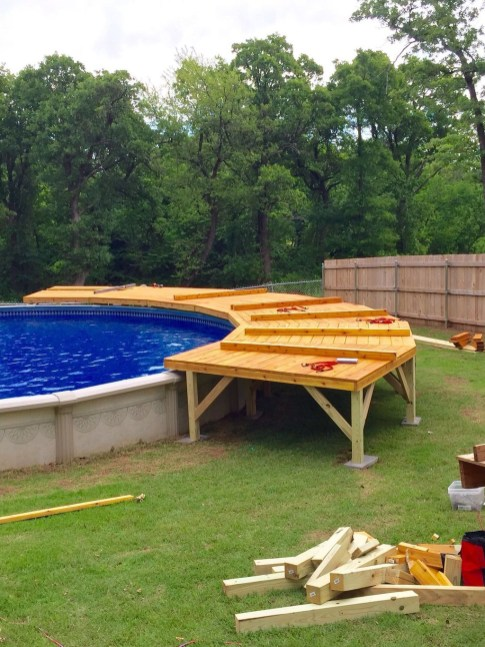Landscaping Ideas For Backyard Swimming Pools21