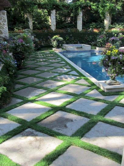 Landscaping Ideas For Backyard Swimming Pools23