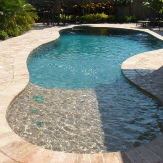Landscaping Ideas For Backyard Swimming Pools40