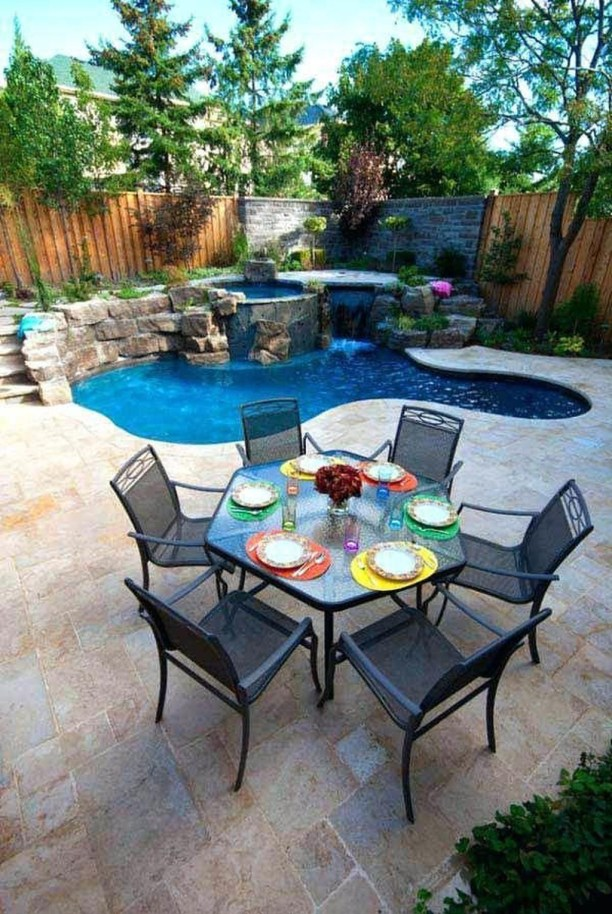 Landscaping Ideas For Backyard Swimming Pools41