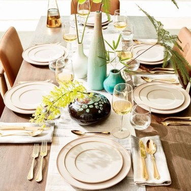 Lovely Dinner Table Design12