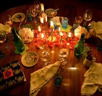 Lovely Dinner Table Design34