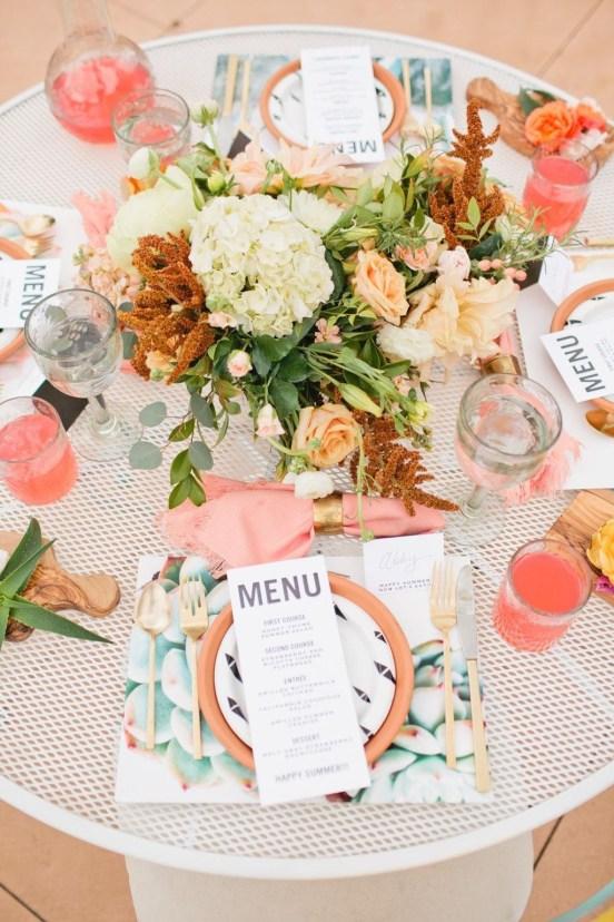 Lovely Dinner Table Design38