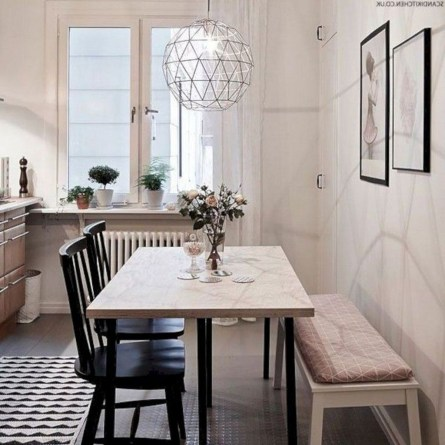 Simple Dining Room Design43