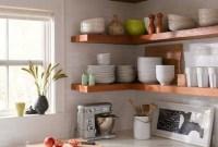 Smart Kitchen Open Shelves Ideas07