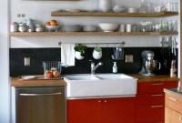 Smart Kitchen Open Shelves Ideas20