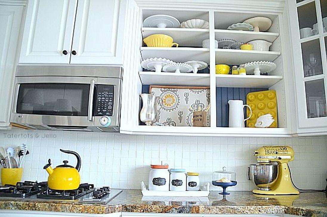 Smart Kitchen Open Shelves Ideas25