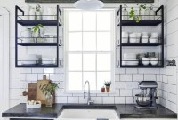 Smart Kitchen Open Shelves Ideas32