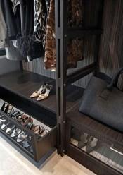 The Best Design An Organised Open Wardrobe04