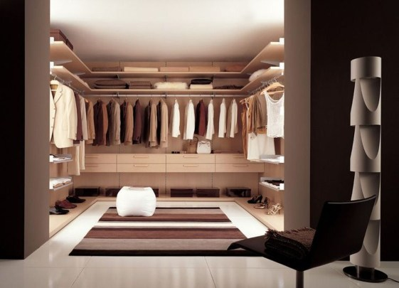 The Best Design An Organised Open Wardrobe07