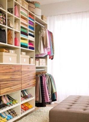 The Best Design An Organised Open Wardrobe08