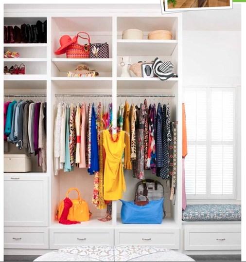 The Best Design An Organised Open Wardrobe31