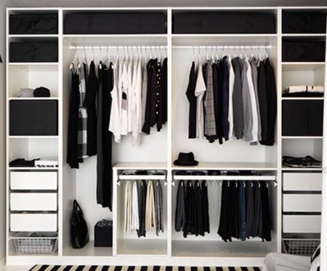 The Best Design An Organised Open Wardrobe37