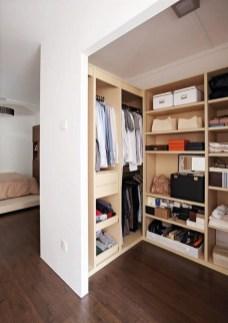 The Best Design An Organised Open Wardrobe39