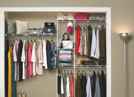The Best Design An Organised Open Wardrobe42