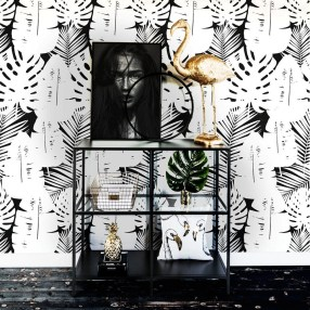 The Best Interior Design Using Wallpaper To Add To The Beauty Of Your Home10
