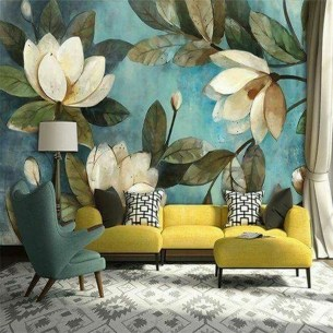 The Best Interior Design Using Wallpaper To Add To The Beauty Of Your Home20