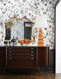 The Best Interior Design Using Wallpaper To Add To The Beauty Of Your Home32