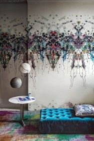 The Best Interior Design Using Wallpaper To Add To The Beauty Of Your Home41