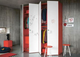 The Best Wardrobe Shutter Designs For Childrens44