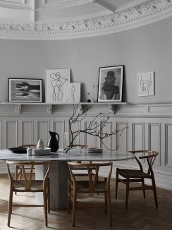 The Concept Of A Table And Chair For Dining Room12