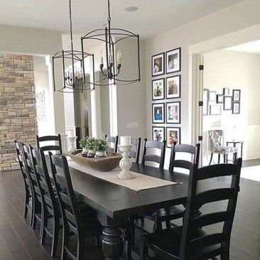 The Ideas Of A Dining Room Design In The Winter10