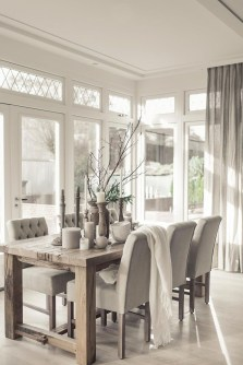 The Ideas Of A Dining Room Design In The Winter24