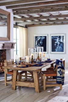 The Ideas Of A Dining Room Design In The Winter25