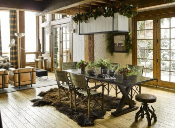 The Ideas Of A Dining Room Design In The Winter42