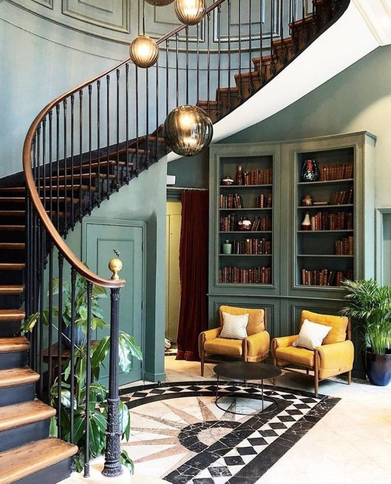The Most Popular Staircase Design This Year For Interior Design Your Home09