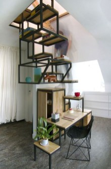 The Most Popular Staircase Design This Year For Interior Design Your Home32
