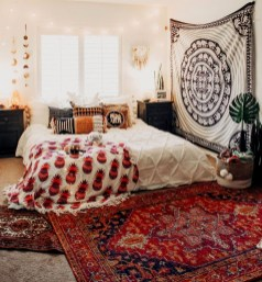 Awesome Bohemian Bedroom Tapestry Decorating Ideas01