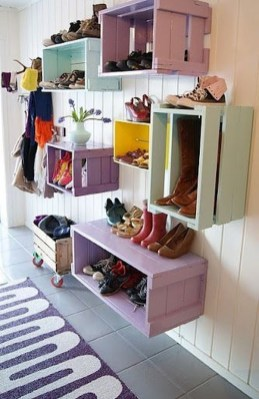 Awesome Shoe Storage Diy Projects For Small Spaces Ideas07