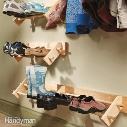 Awesome Shoe Storage Diy Projects For Small Spaces Ideas12