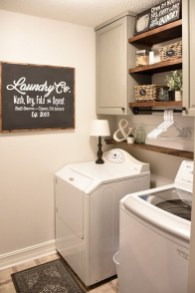 Beautiful Ideas For Tiny Laundry Spaces16