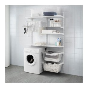 Beautiful Ideas For Tiny Laundry Spaces17