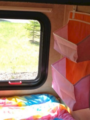 Best Tips Tricks Camper Organization Travel Trailers Hacks Ideas31