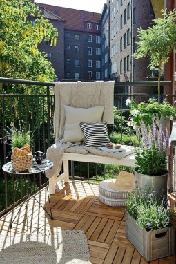 Decoration Of Balconies In Apartments That Inspire People17