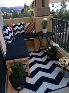 Decoration Of Balconies In Apartments That Inspire People20