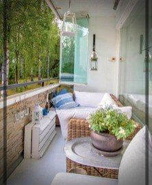 Decoration Of Balconies In Apartments That Inspire People27