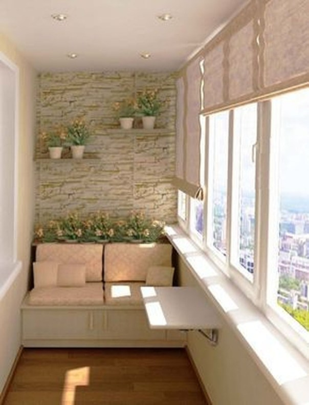 Decoration Of Balconies In Apartments That Inspire People36